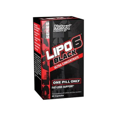 Nutrex lipo 6 black ultra concentrate - 60caps