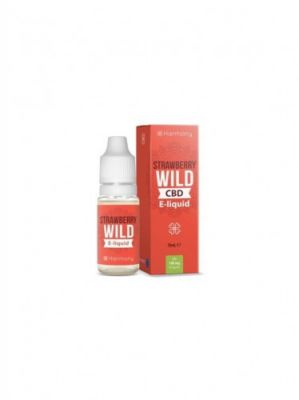 E-liquid harmony strawberry 300mg cbd 10ml