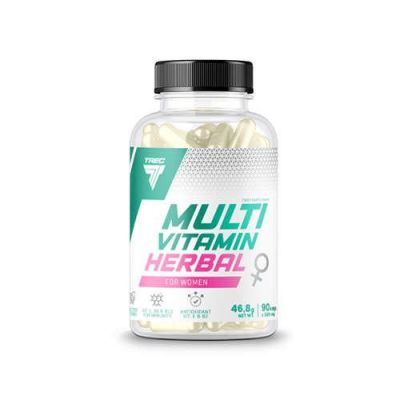 Trec multivitamin herbal for women 90cap