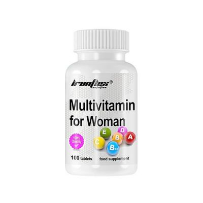 Ironflex multivitamin for women 100 tabs
