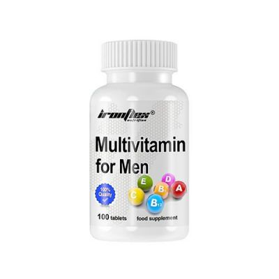 Ironflex multivitamin for men 100 tabs